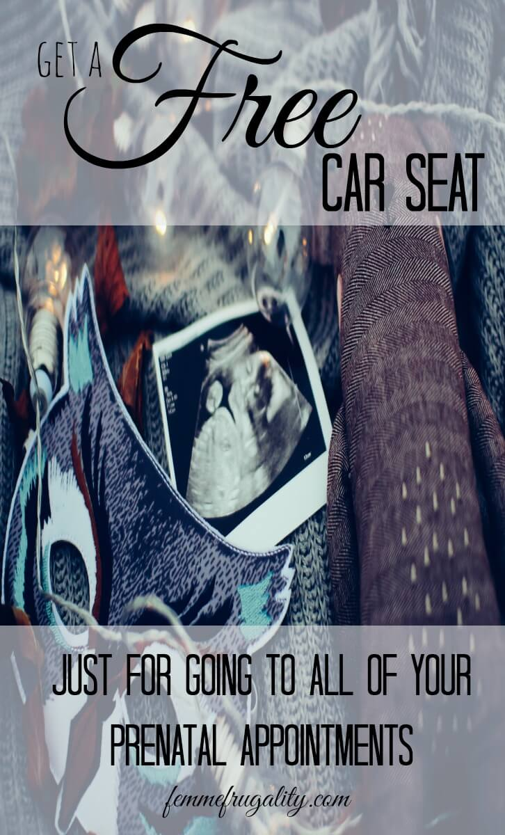 Wow! I didn't know you could get a free car seat from your insurer just for going to your prenatal appointments!