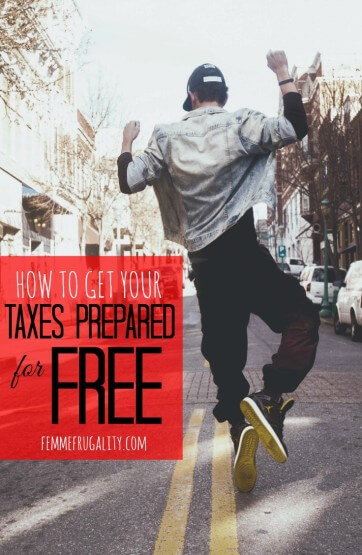 how to get your taxes prepared for free