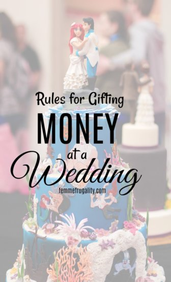 Geez, I never would have thought of the rules for writing checks to newlyweds! Important read for all wedding guests: rules of etiquette for gifting money.