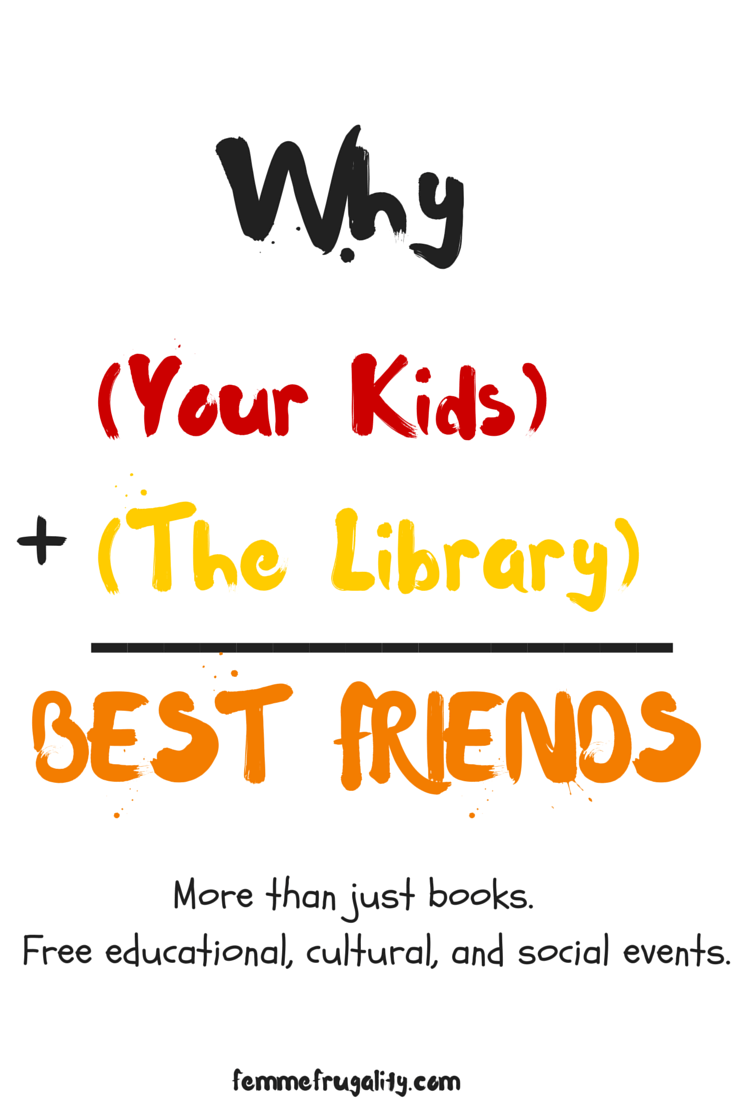 Are you paying to have your kids attend social groups, cultural events, or supplemental educational courses? Check out your library. It could save you oodles with any of these events for free.