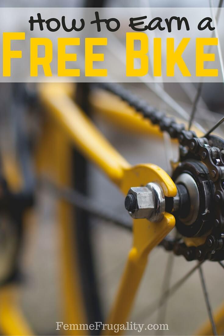 How to Earn a Free Bike