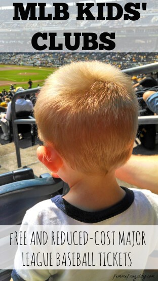 How to get free or seriously reduced price tickets to Major League Baseball games when you have kids.