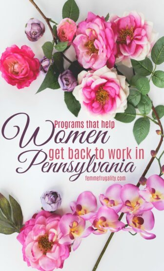 This is such a great resource! List of programs that help women reenter the workforce after a period away or a life tragedy.