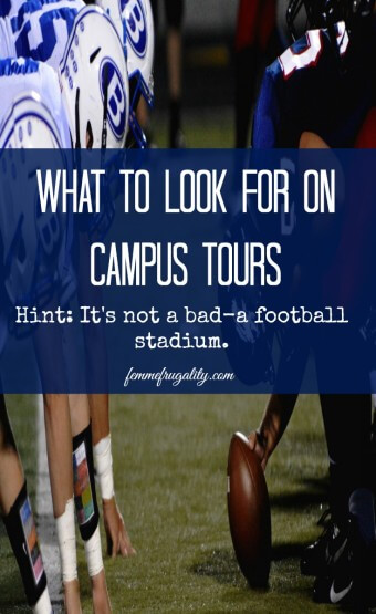 Don't get sucked into campus tours that show off glitz and glam; they're likely spending your tuition dollars irresponsibly. Ask these questions instead.
