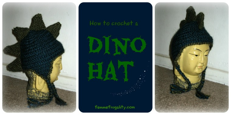 dinosaur hat how to
