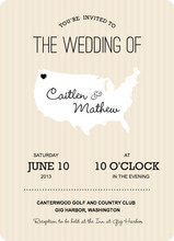 map wedding invite