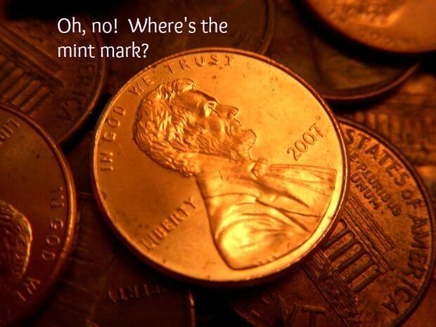 missing mint mark