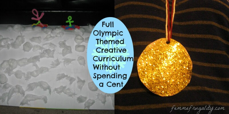 Great ideas to engage toddlers with the Olympic spirit.