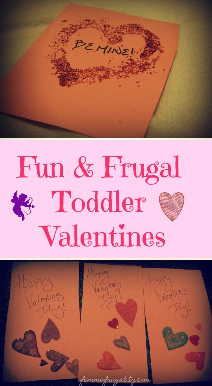 Such cute and easy ideas! Plus, it won't cost me a lot of money to make these Valentines with my toddler.