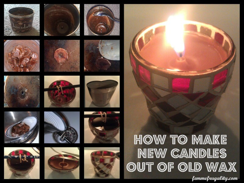 RECYCLING CANDLES