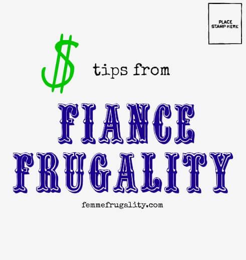 fiancefrugality