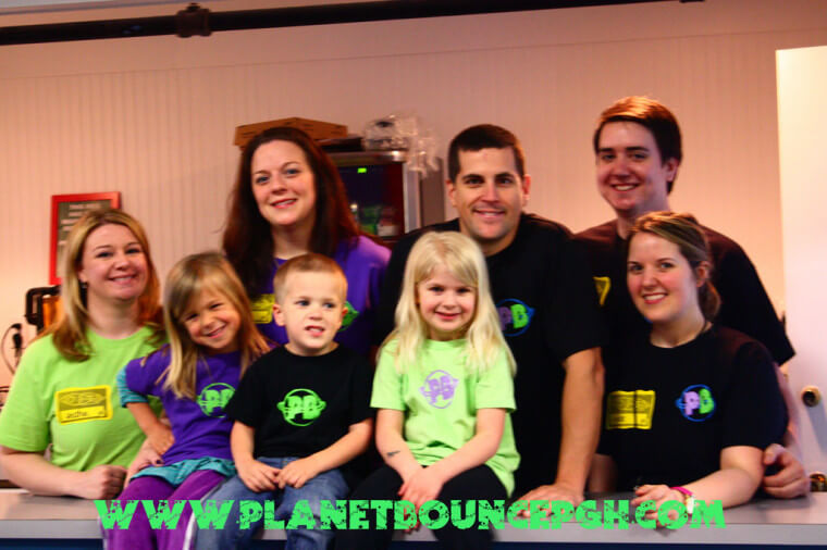 Planet Bounce Family
