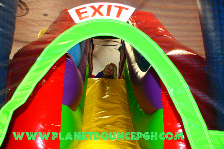 fun at planet bounce