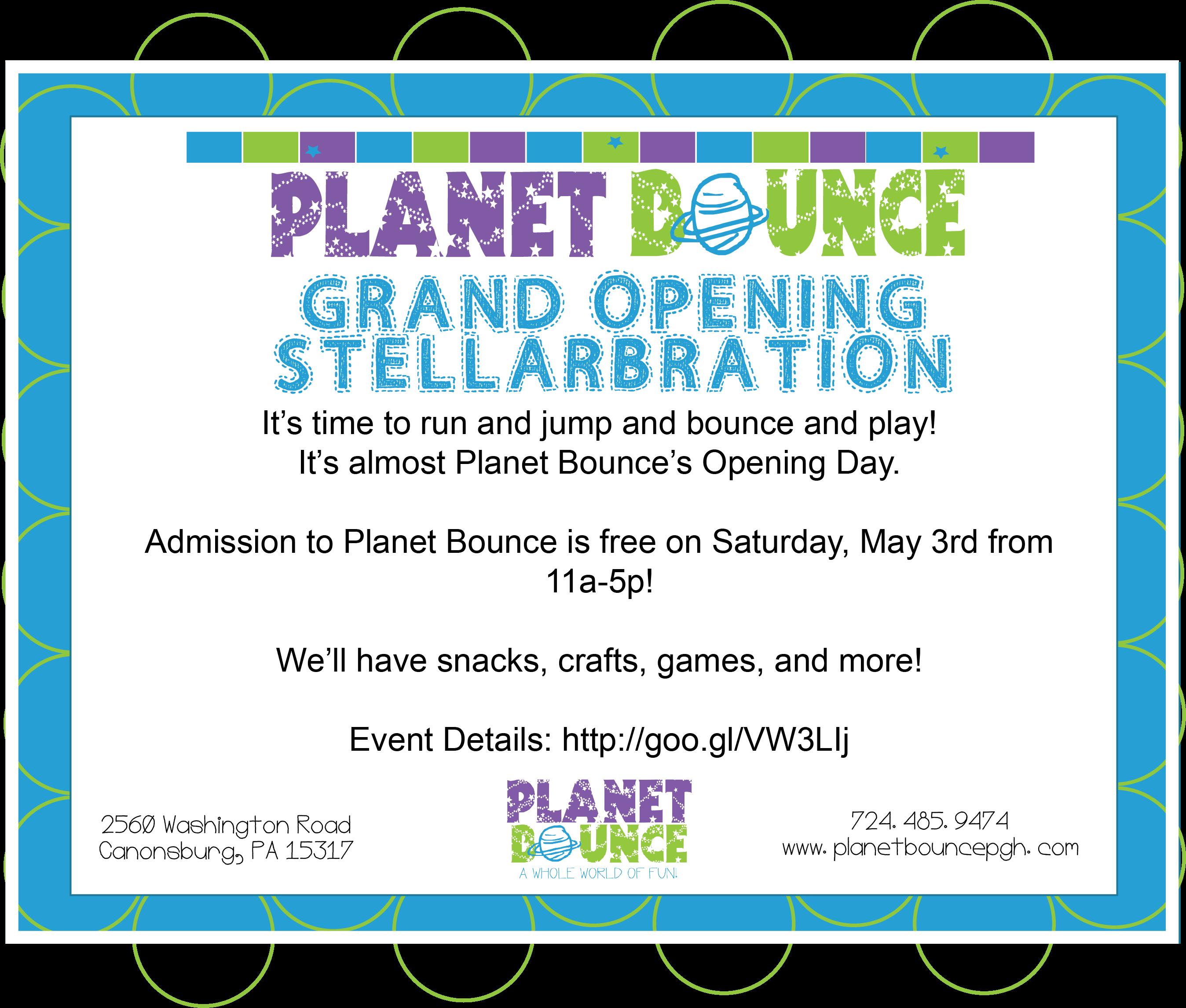 Planet Bounce Stellarbration