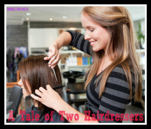 two hairdressers