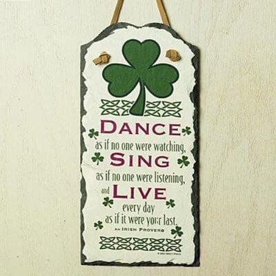 irish proverb