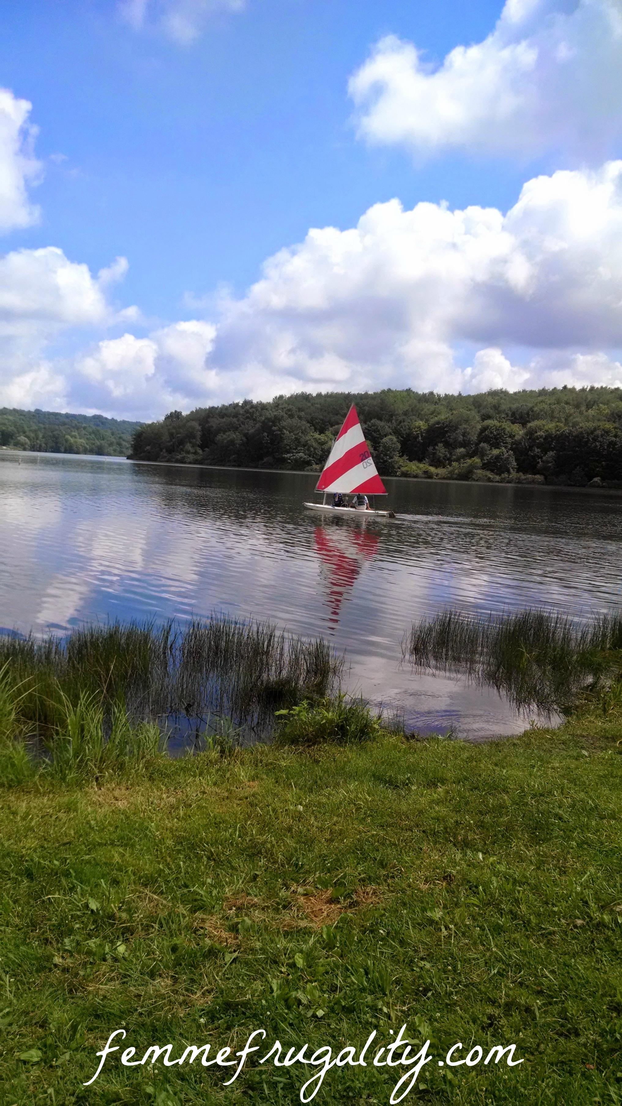 lake arthur boat