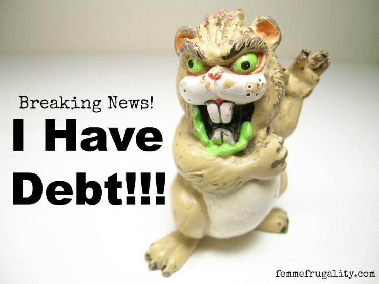 i have debt