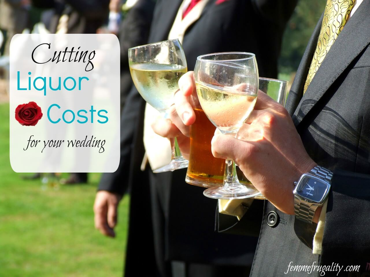 Byob Wedding For The Hosts Not The Guests Femme Frugality