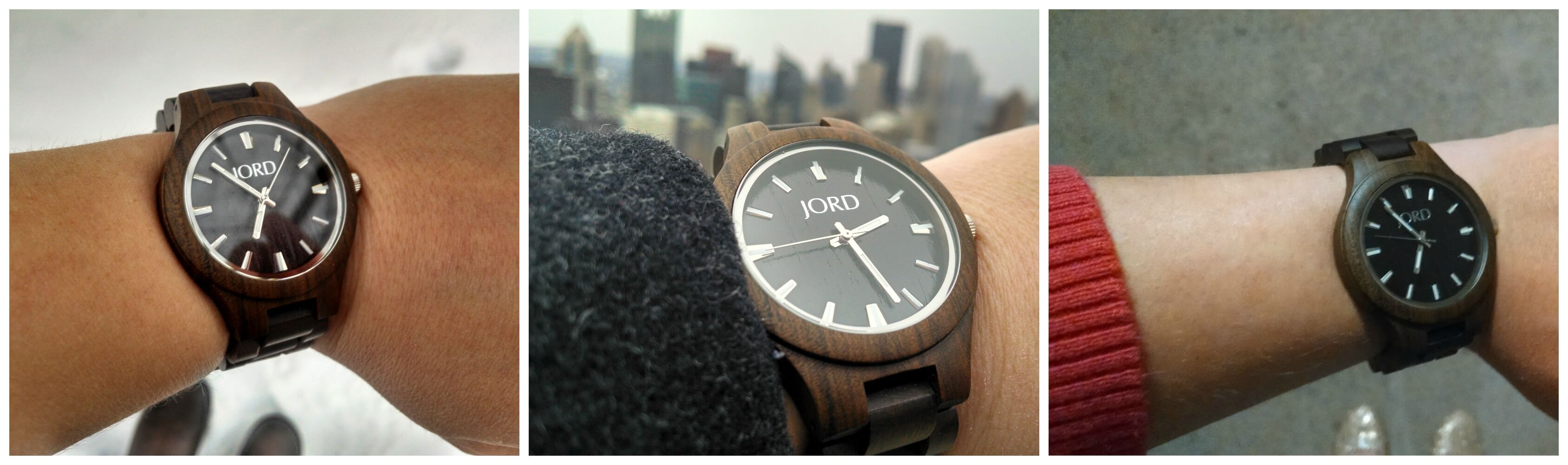 A day in the life of a JORD Wood Watch. Giveaway open to help you win of your own.  March 9-25, 2015