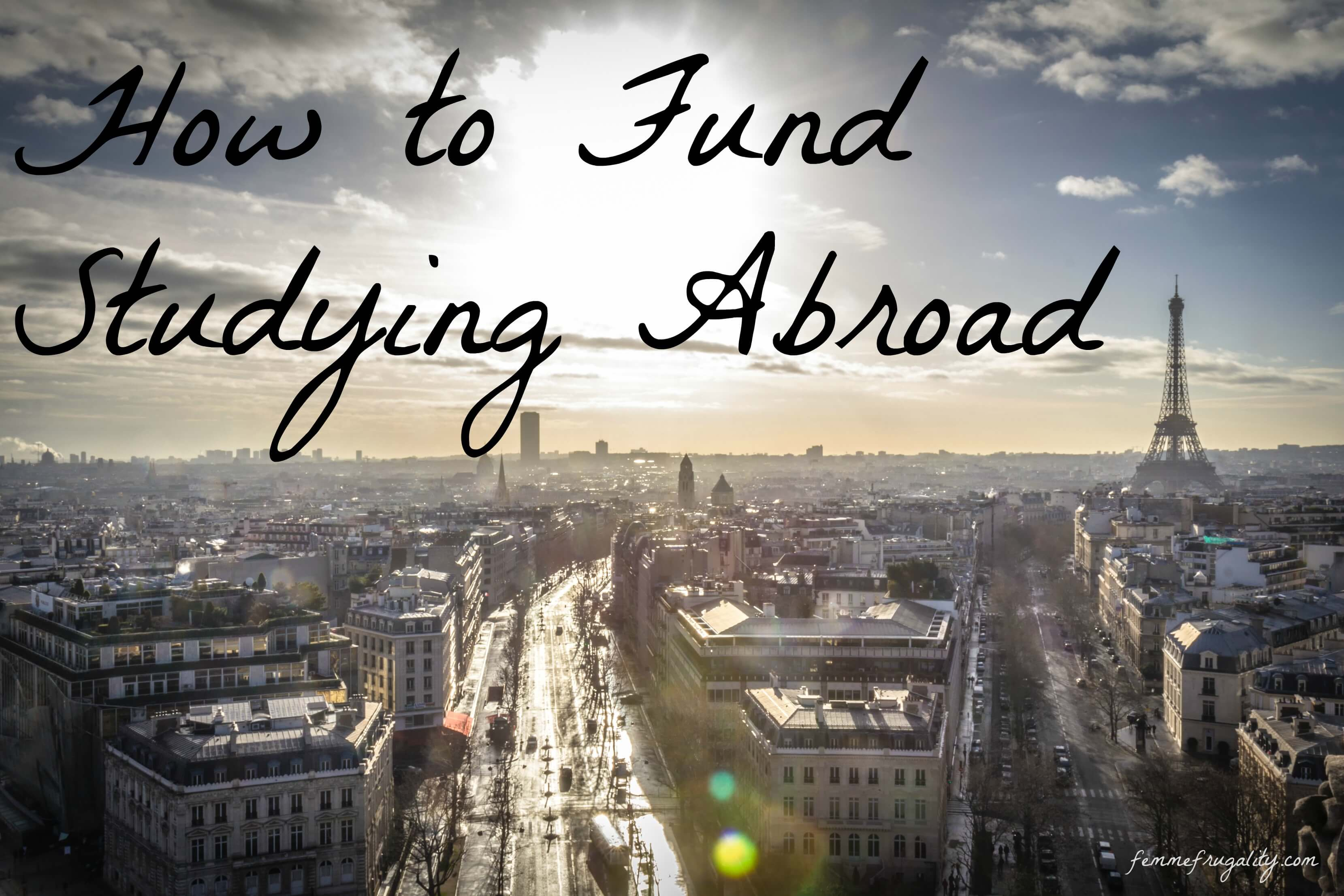How to fund studying abroad