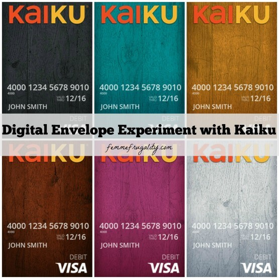 We created a digital envelope system for one month using Kaiku. Did it help?