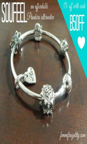 Love charm bracelets! And the amount of personalization Soufeel offers is amazing---so much cheaper than Pandora!
