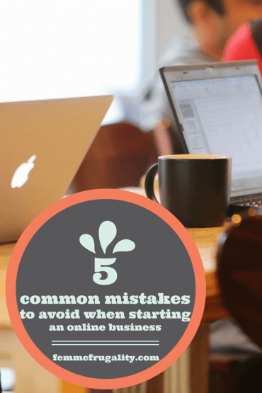 5 Common Mistakes to Avoid When Starting an Online Business