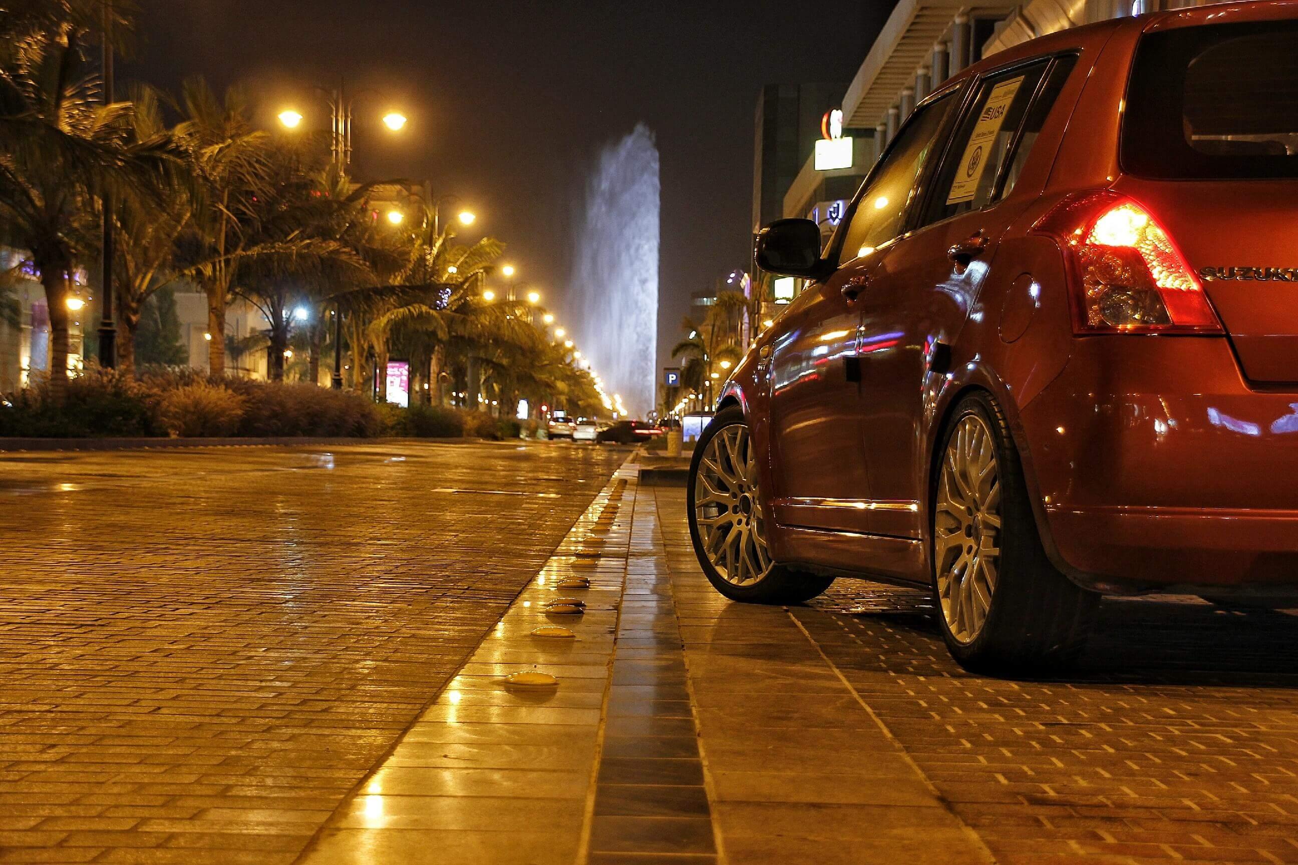 car fountain