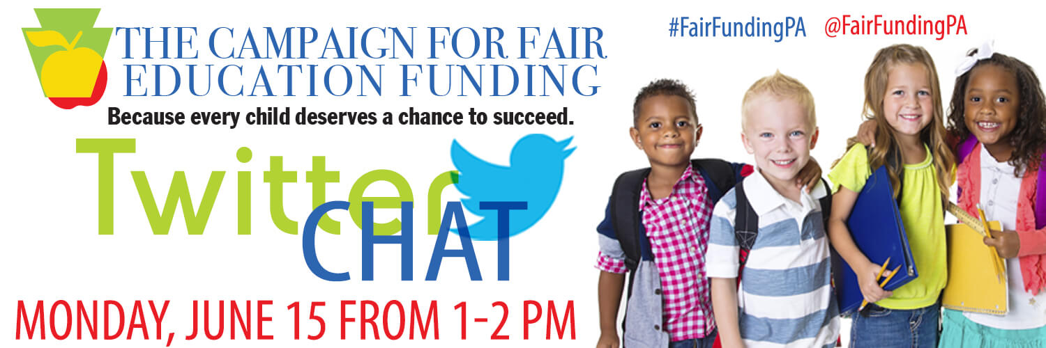PA needs a basic education funding formula for the good of our students. Join the conversation on June 15th.
