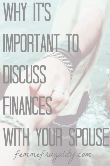 Why It's Important to Discuss Finances With Your Spouse