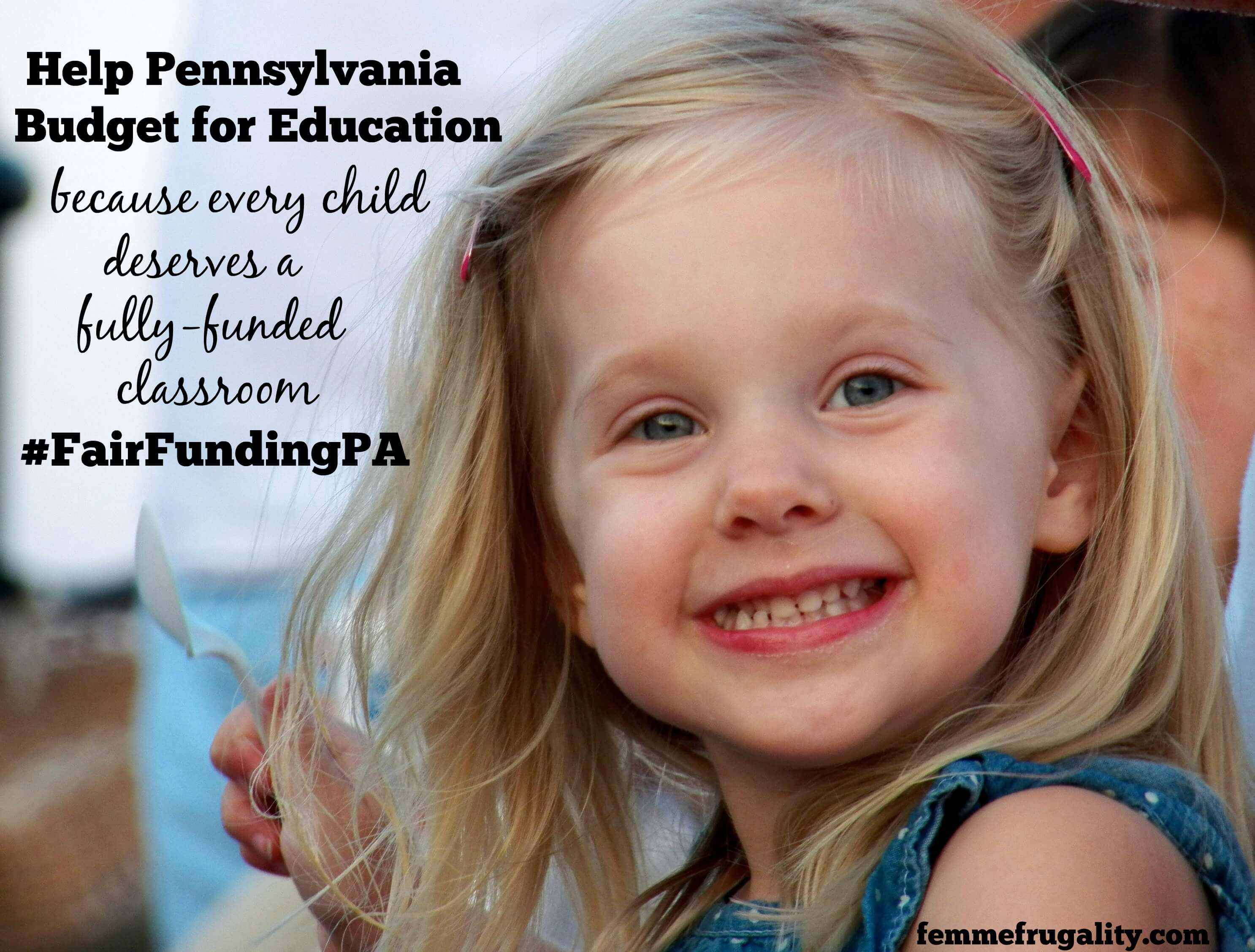 Pennsylvania is one of only three states without a basic funding formula for education. That needs to change.