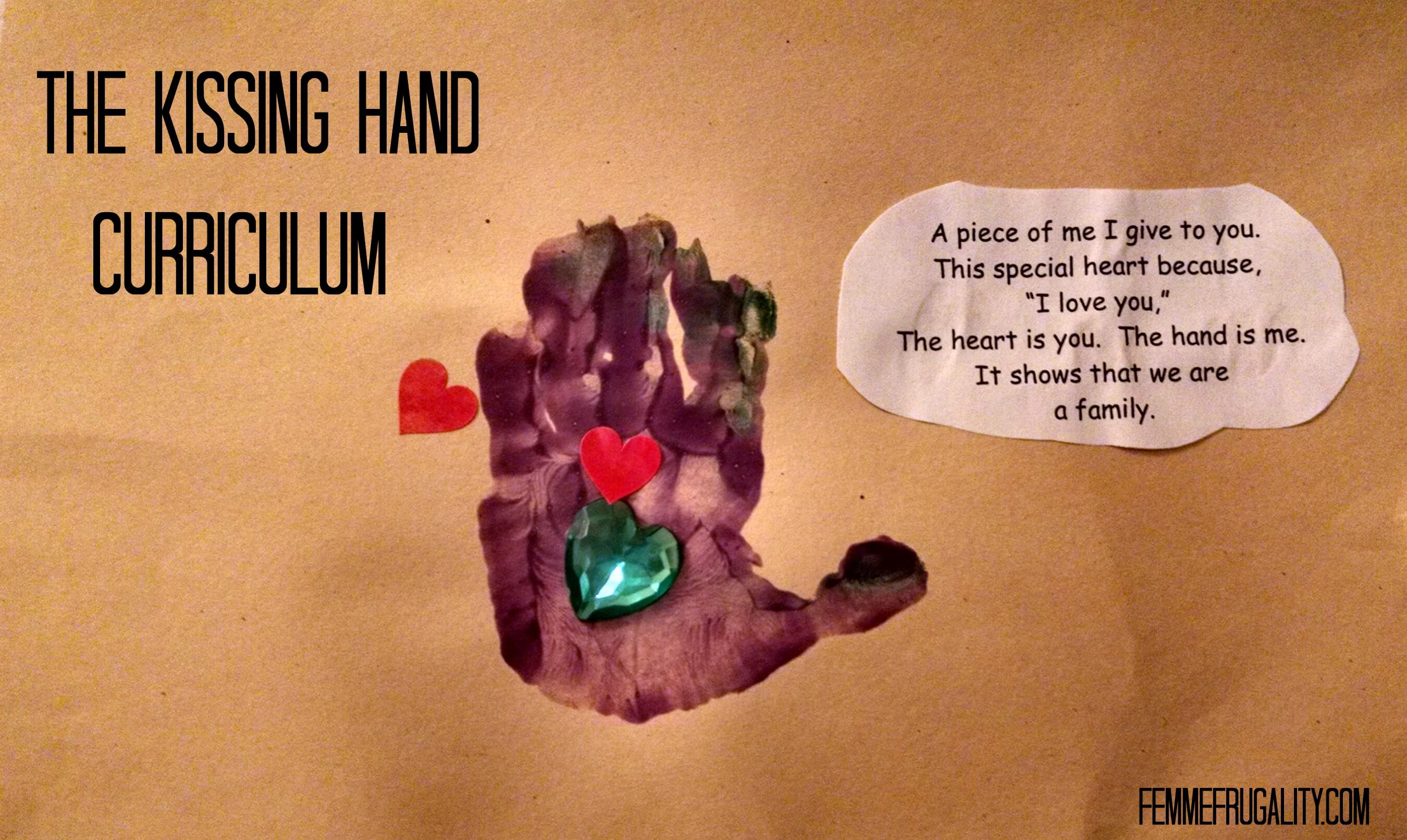 The Kissing Hand Curriculum