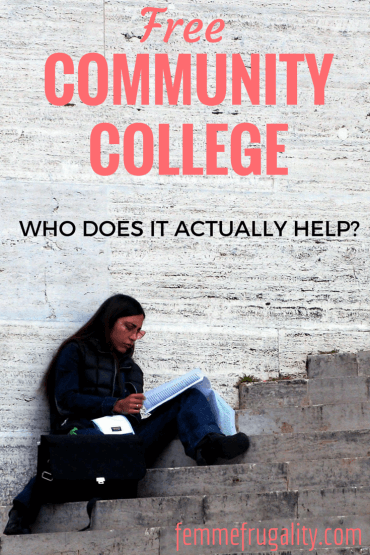Who does free community college help?  It may not be who you're expecting.