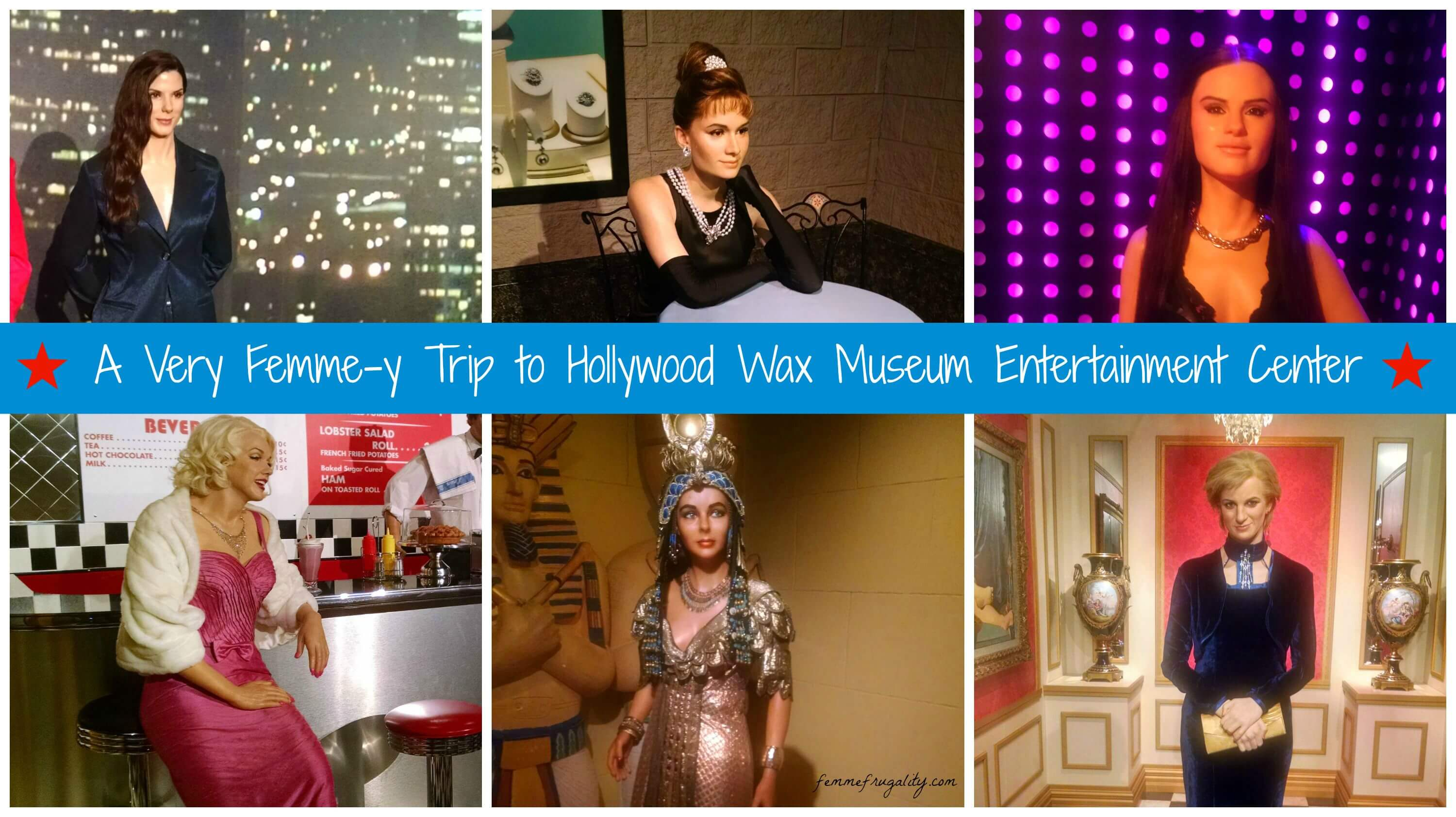 Women of the Hollywood Wax Museum, Myrtle Beach