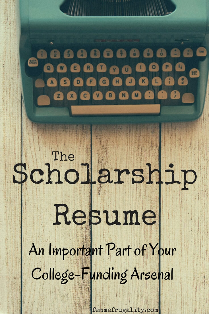 find out what a scholarship resume is and why its so important when you - Scholarship Resume