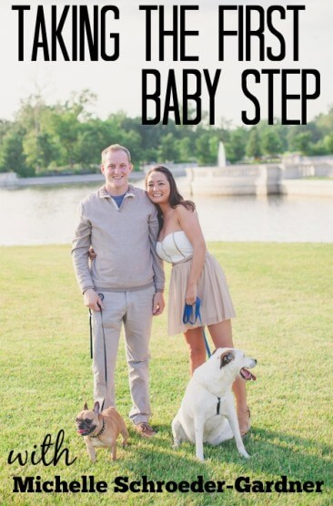 taking the first baby step