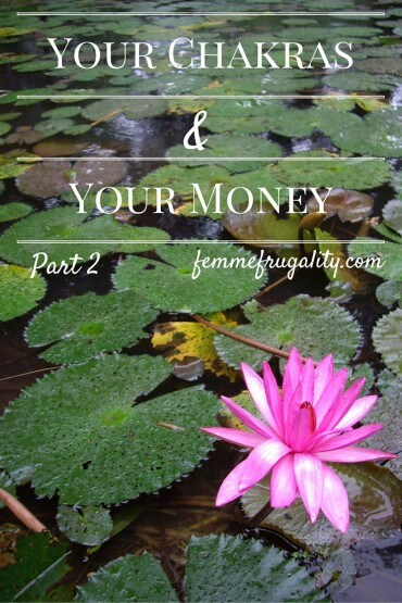 Meet me at the intersection of chakra alignment and personal finance.