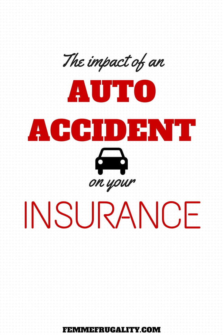 Think an auto accident will automatically make your insurance rates soar? Find out when and why that does, and doesn't, happen.