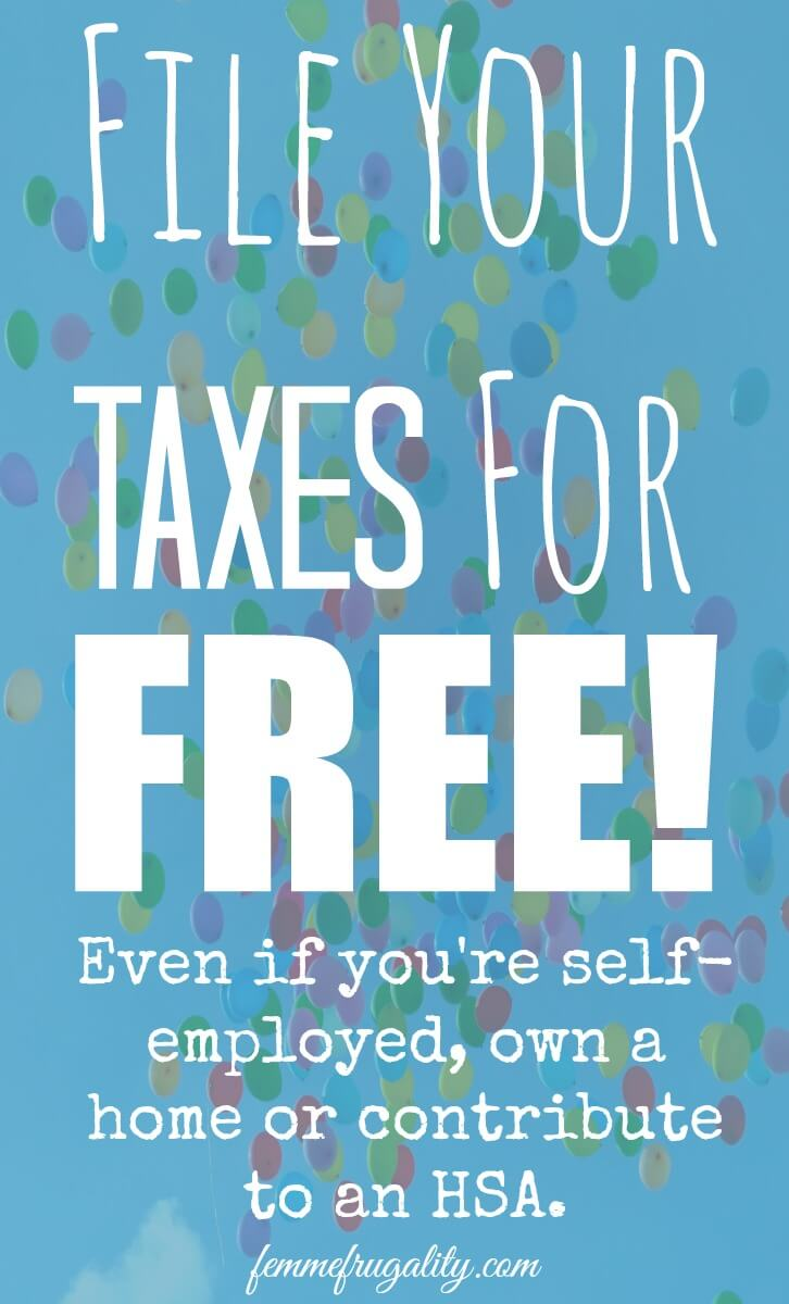 Totally surprised! I qualify for the third option on here and I think most of my friends do, too! So many free tax preparation options...