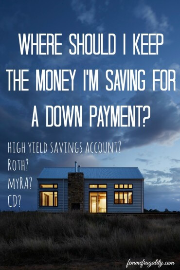 You know you should be saving money for a down payment, but where should you be keeping it? Here is the best way to save for a house in our personal experience.