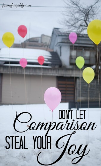Comparison can steal your joy. Empower yourself to be happy with your life, without comparing it to others.