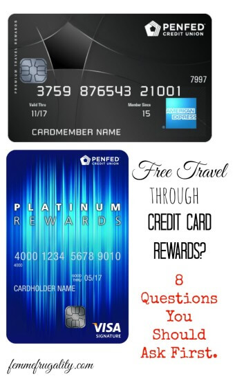 Getting free travel through credit card rewards sounds sexy, but there are some serious questions you should ask first. Come check out what you should be asking.