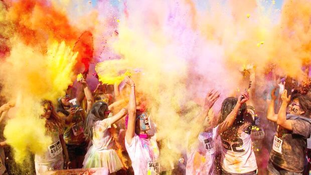 Check out the Color Me Rad 5k, and get a promo code for discounted tickets.