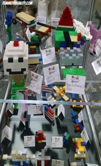 Lego Kidsfest Display Case