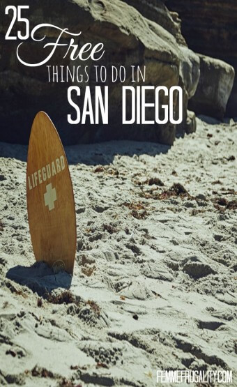 Want to save money on your next trip to America's Finest City? Check out this list of 25 free things to do while in San Diego. They'll keep you so busy you won't have time to spend money!