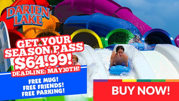 Get discounted Darien Lake season passes through May 30th!