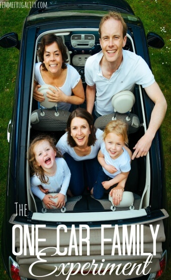 Dream of cutting costs by becoming a one car family? Experiment with us! See what worked, what didn't and how to fix it.