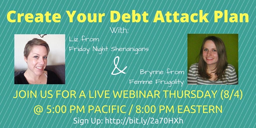Debt sucks. Let's talk about it.