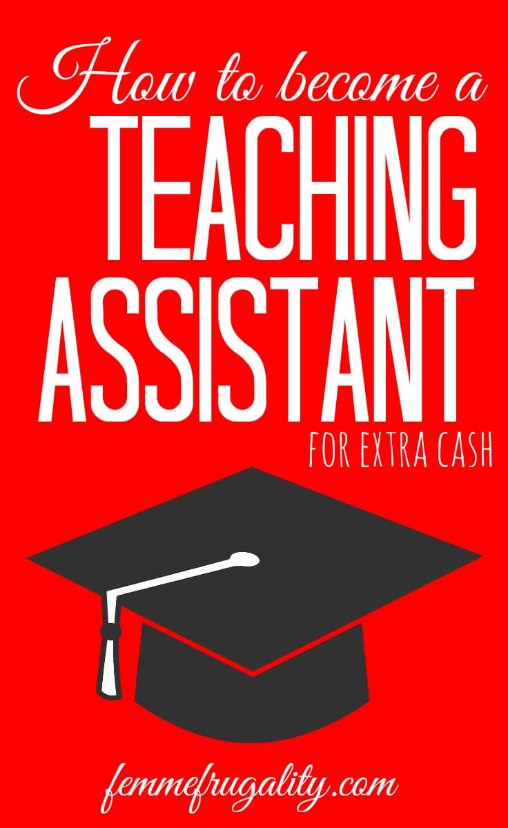 Wow! She made good money as a teaching assistant in college! Definitely going to show this to my kids.